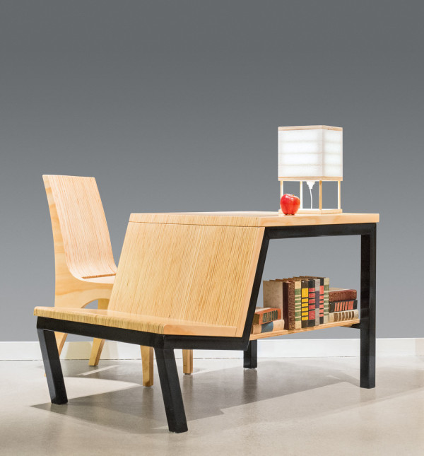 Multifunctional Desk Turned Dining Table for Small Spaces in main home furnishings  Category