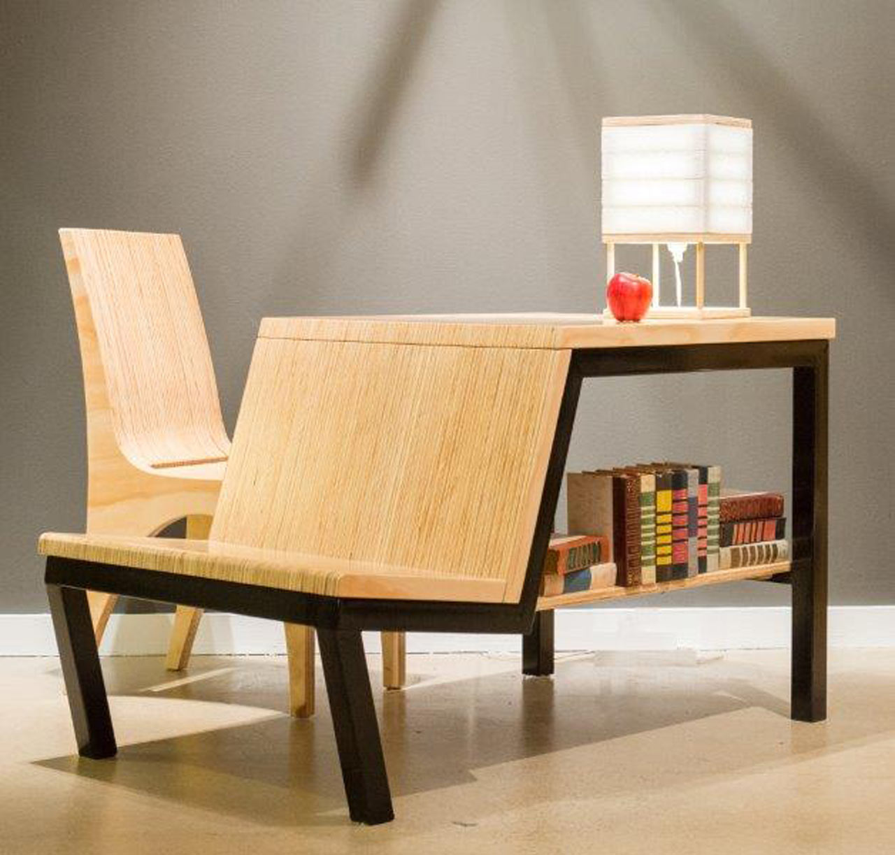 Multifunctional Desk-Turned-Dining Table for Small Spaces