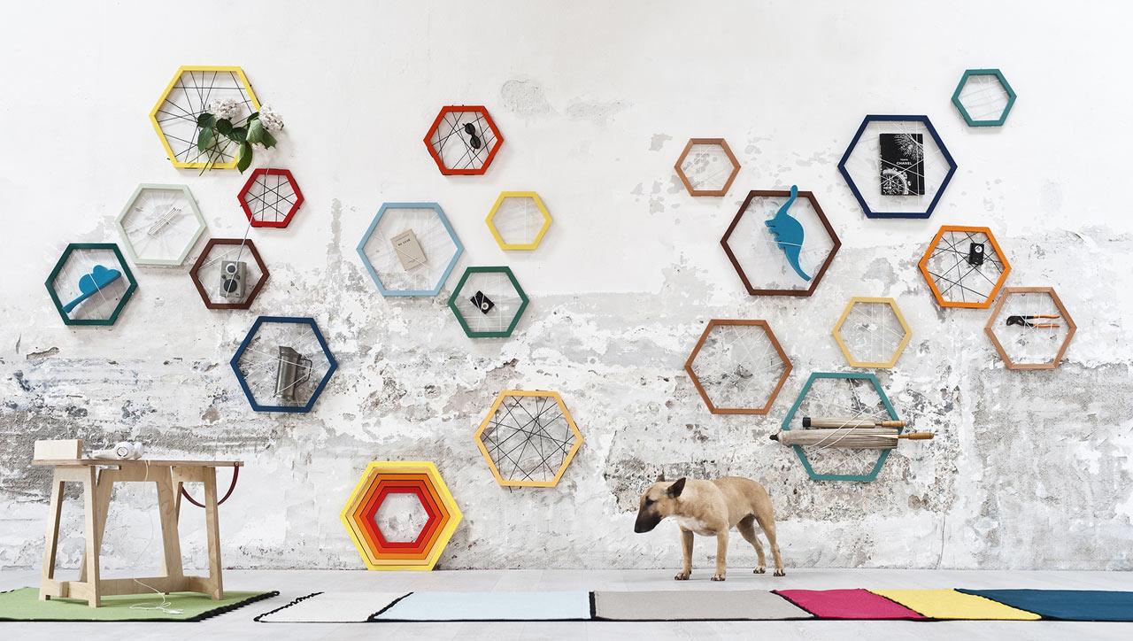 Racchetta Storage Frames by Ivana Mannavola