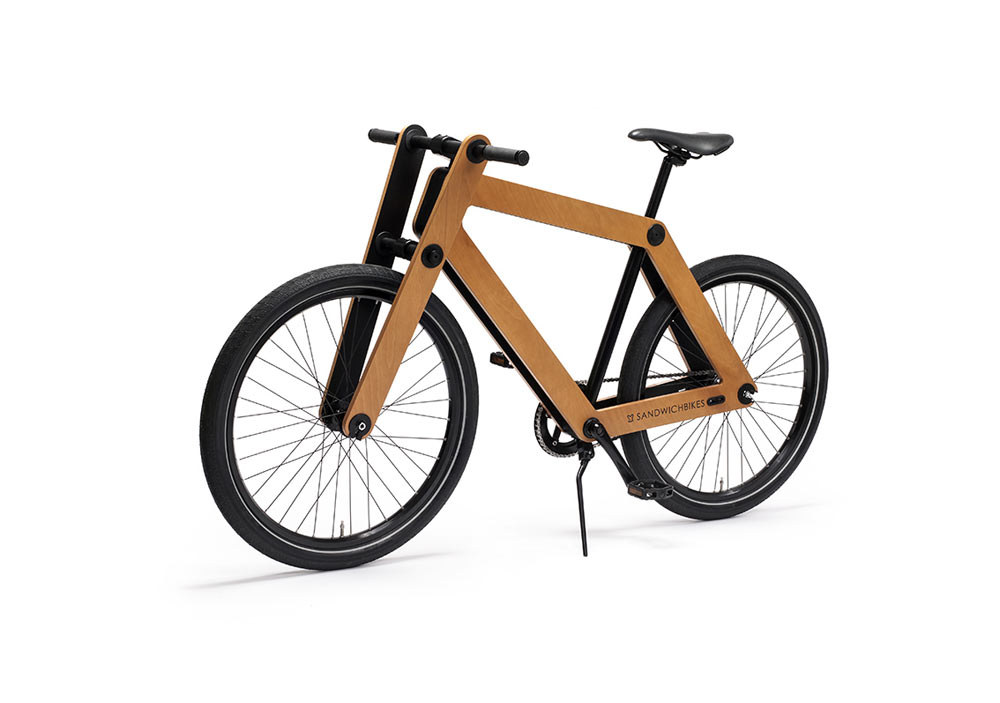 Sandwichbike: A Flat-Packed Wooden Bicycle