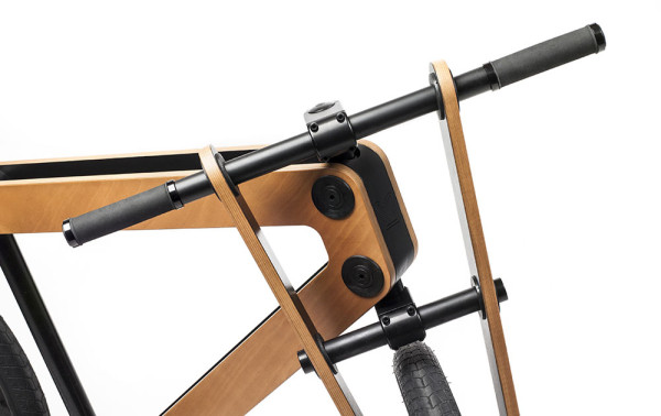 Sandwichbike: A Flat Packed Wooden Bicycle in style fashion  Category