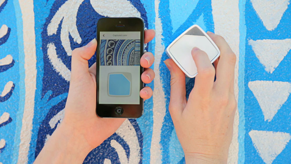 Capture the Color of Anything with the SwatchMate Cube