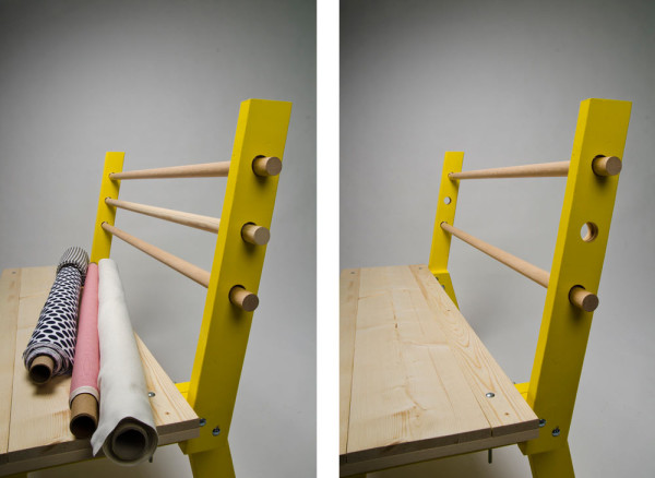 Fabric Bolts Got Your Back: Bolt Bench in main home furnishings  Category