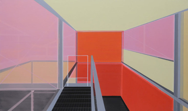 Architectural Paintings by Cécile van Hanja in main art architecture  Category