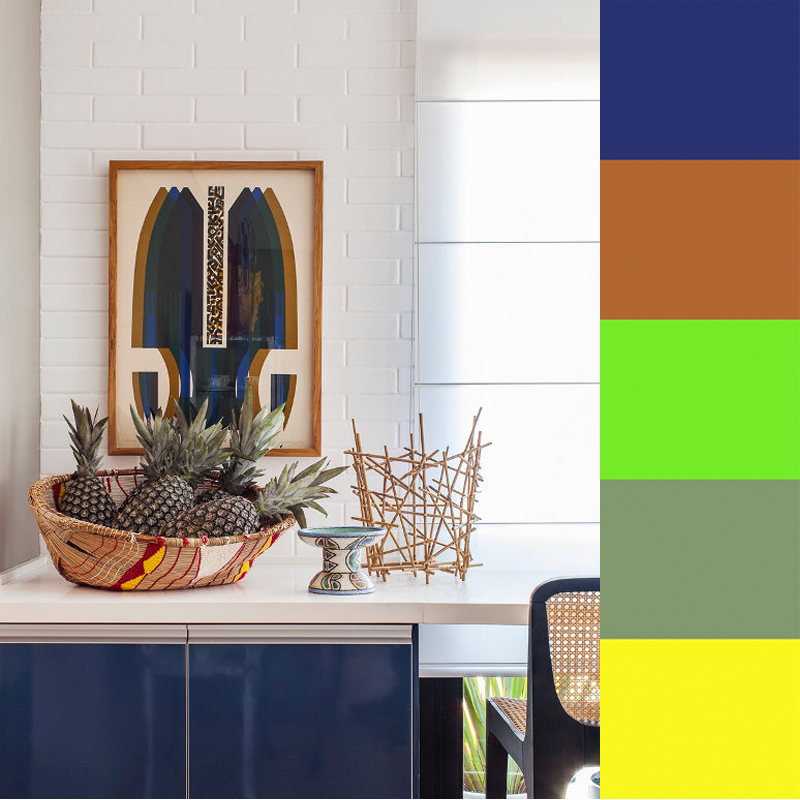 Mauricio Arrudas Color-Punctated Interiors