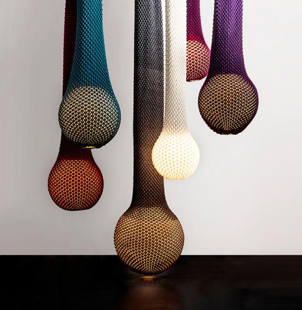 Crochet Lamp Shades Ariel Zuckerman 2