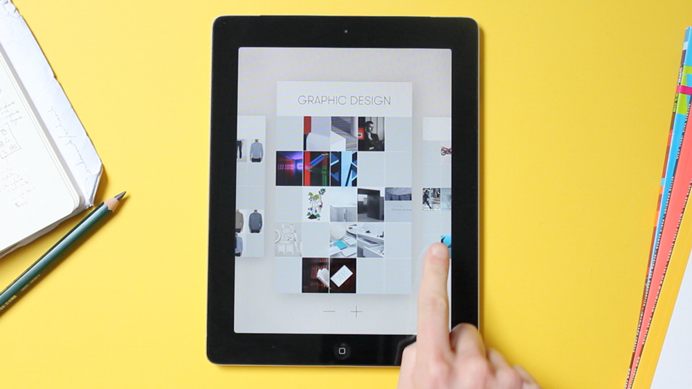 Curator: An iPad App For Designers & Visual Thinkers
