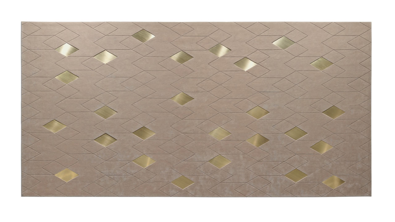Diamond Rug by Davide Rizzo for Oliver Treutlein