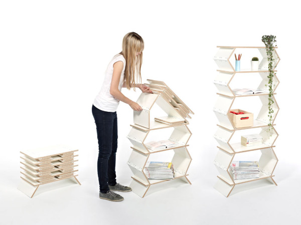 foldable-collapsible-bookshelf-three