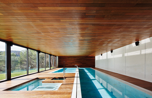 12 Modern Indoor Pools in main interior design architecture  Category