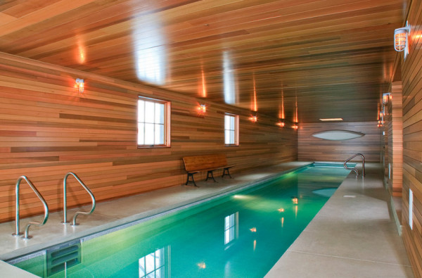 12 modern indoor pools - design milk