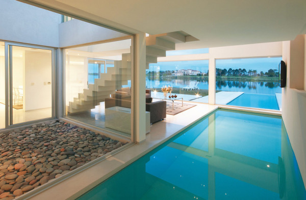 Houses With Indoor Pools 12 modern indoor pools - design milk