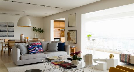 Airy Apartment Interior by Diego Revollo