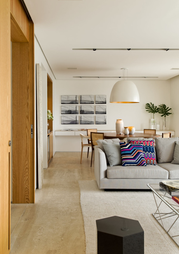 Airy Apartment Interior by Diego Revollo in main interior design  Category