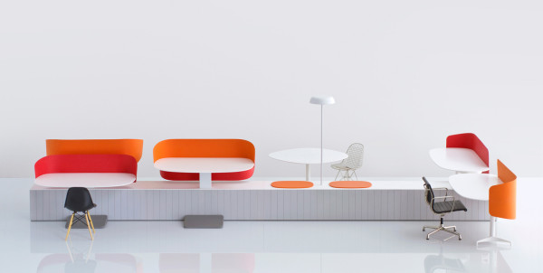 Flexible Collaborative Office Furniture by Industrial Facility in home furnishings Category