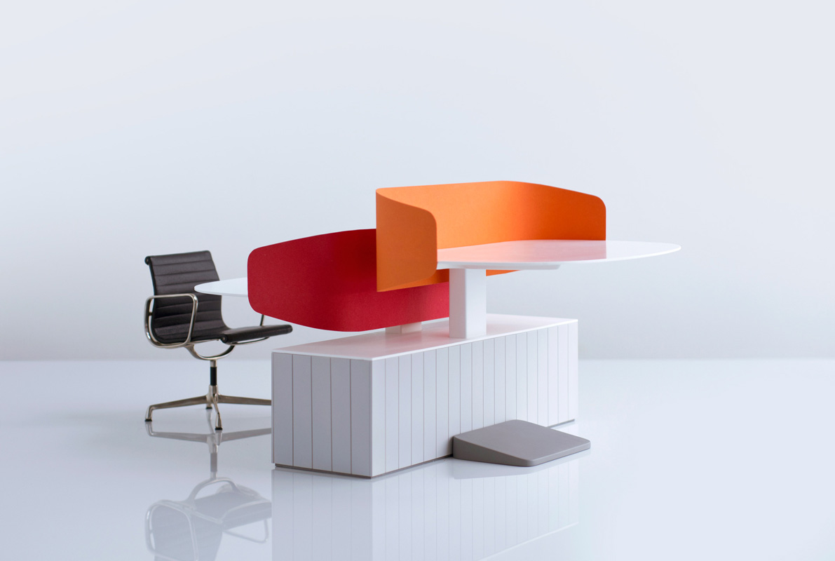"""backReturn to """"Flexible Collaborative Office Furniture by Industrial Facility"""""""