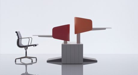 Flexible Collaborative Office Furniture by Industrial Facility