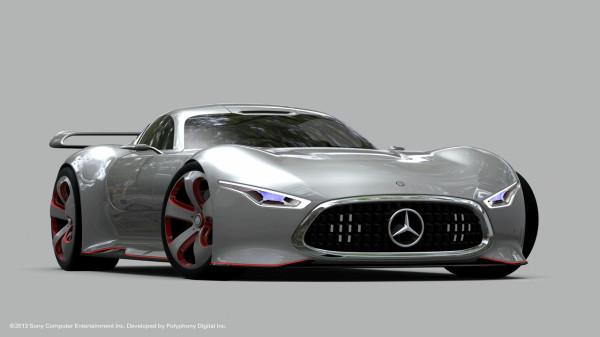 Mercedes Benz Amg Vision Gran Turismo Design Milk