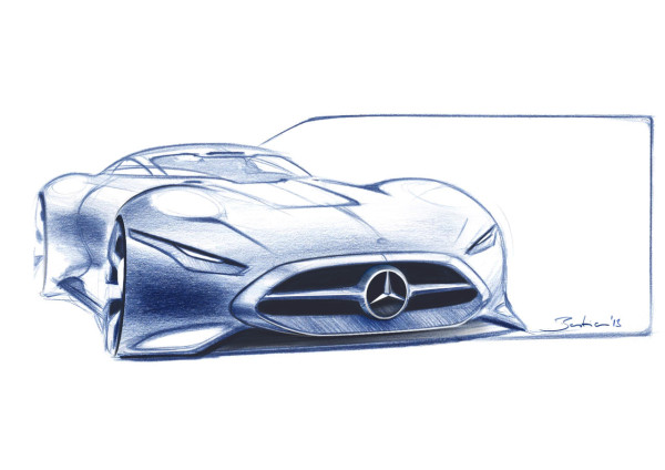 Mercedes Benz AMG Vision Gran Turismo in technology Category