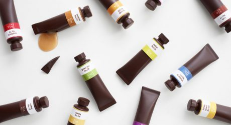Chocolates That Look Like a Set of Oil Paints