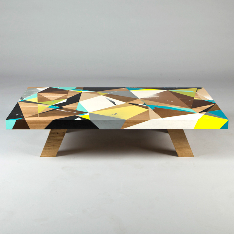 Graffiti-Inspired Coffee Tables by Vans the Omega