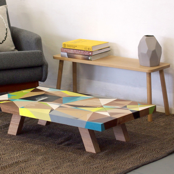 Graffiti Inspired Coffee Tables by Vans the Omega in main home furnishings  Category