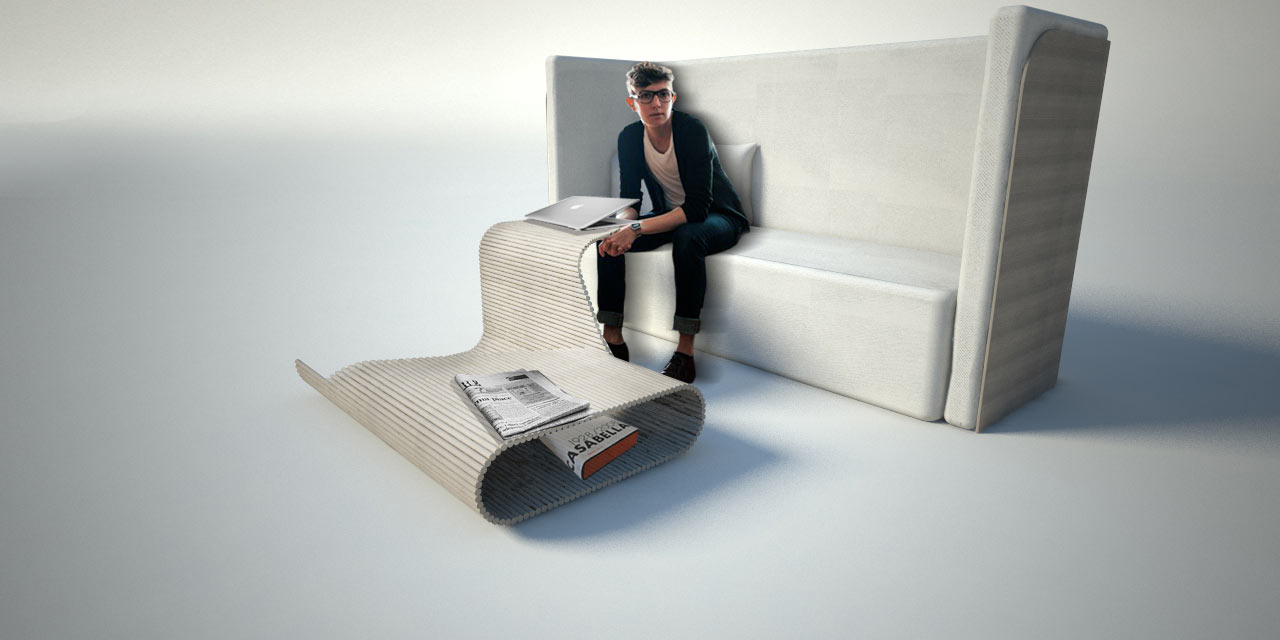 Genial Furniture Of The Future As Imagined By Carlo Ratti And Cassina ...