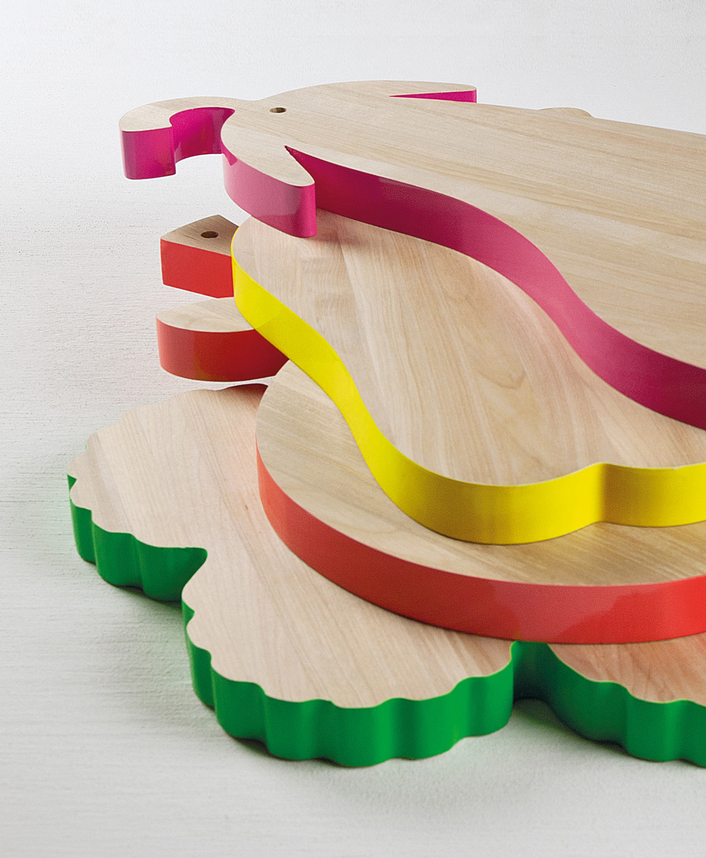 Vege-Table Cutting Boards by Alessandra Baldereschi