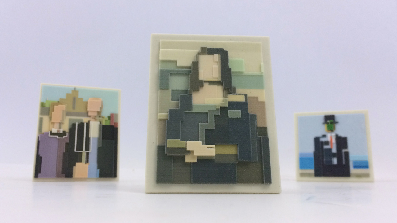3D Prints of Iconic Images in Art and Culture