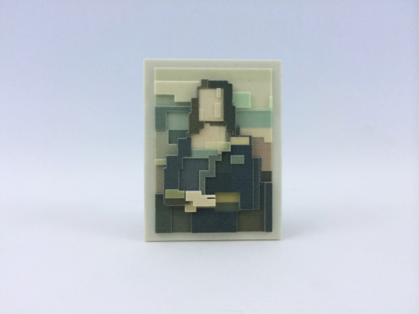 3D Prints of Iconic Images in Art and Culture in technology main art  Category