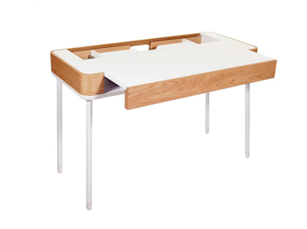 desk with pull out work surface 2