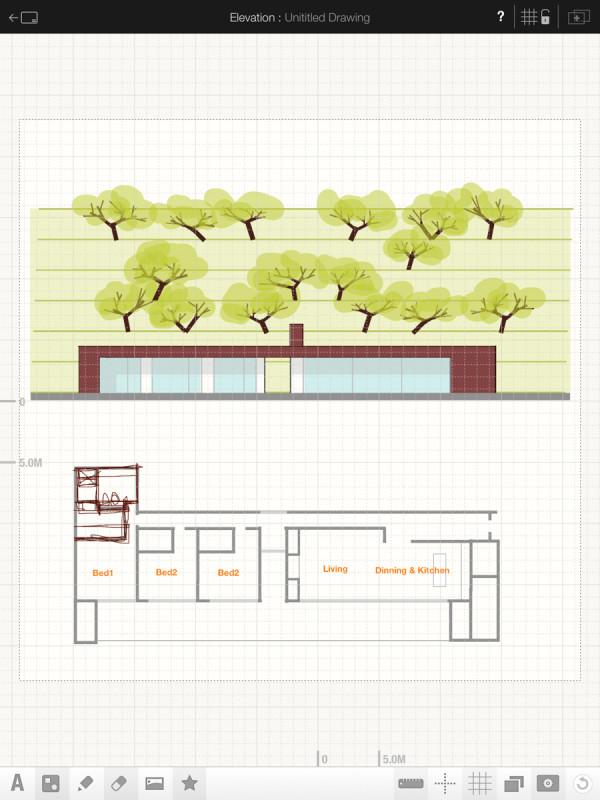 archisketch: sketching app for architects & designers - design milk