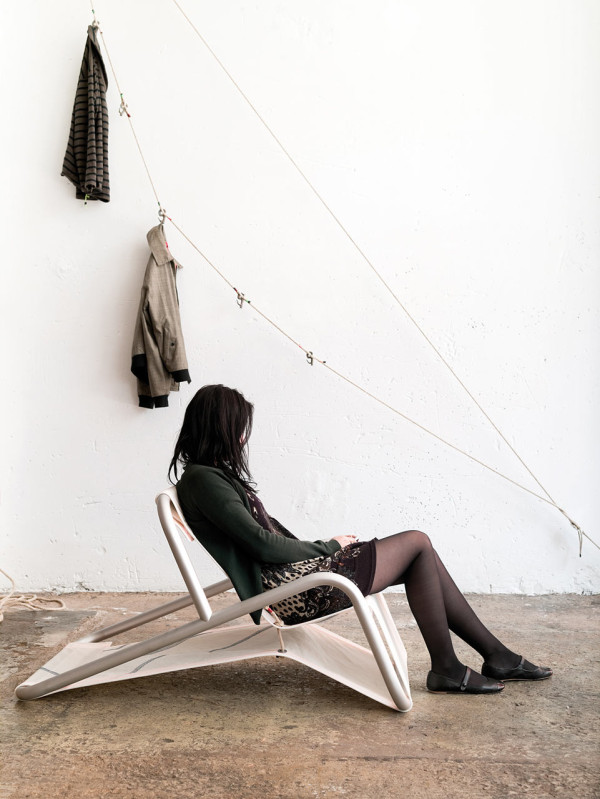 Outdoor Lounge Chairs Made From Recovered Sails in main home furnishings  Category