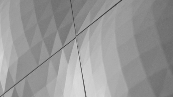 Faceted Wall Tiles by Levi Fignar for KAZA Concrete in main interior design  Category