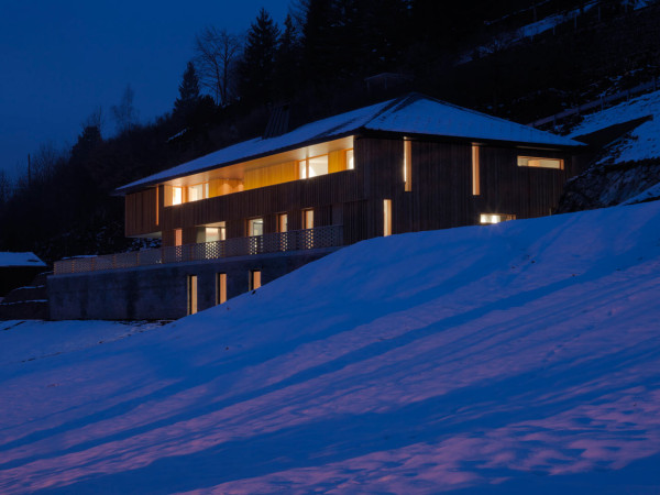 Contemporary Alpine House by Ralph Germann Architectes in main architecture  Category