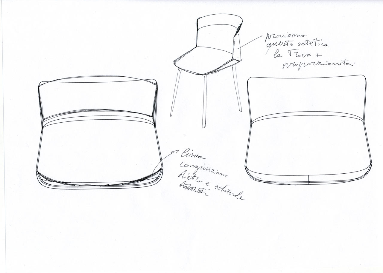 Decon-Motek-Chair-CASSINA-Luca-Nichetto-3-sketch