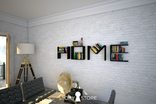 Flex Shelf: A Transforming Shelf From Story Store in main home furnishings  Category
