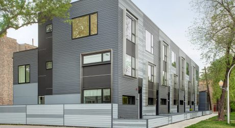 Flexhouse: Eco-Friendly Row Homes in Chicago