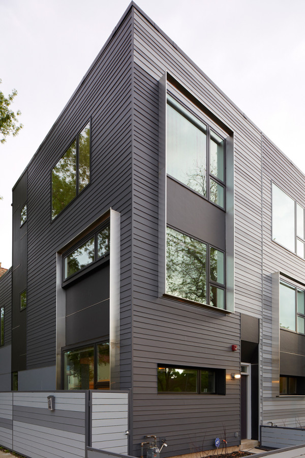 Flexhouse eco friendly row homes in chicago design milk - The flex house ...