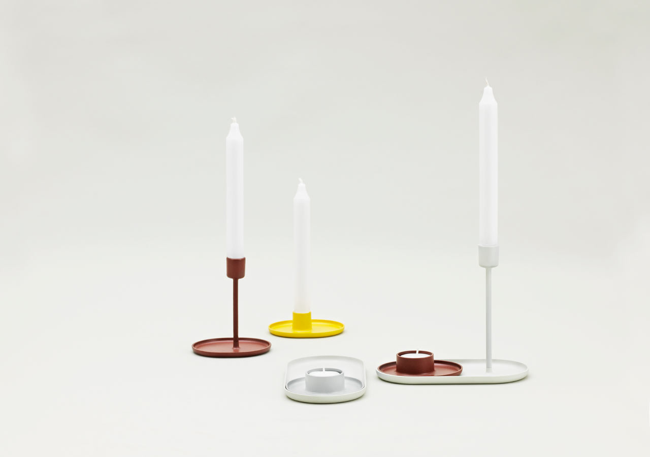 Folk Candle Holders by Simon Legald
