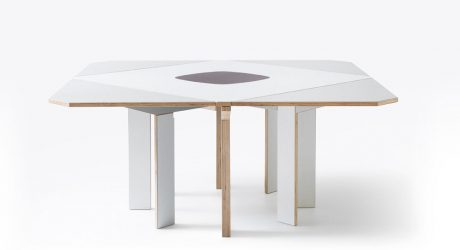 Gironde Extendible Table by Mediodesign