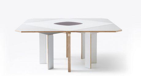Gironde Extendible Table by Mediodesign