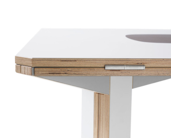 Gironde Extendible Table by Mediodesign in home furnishings Category