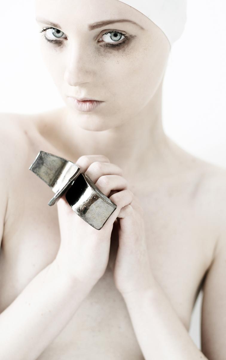 Small Sculpture Jewelry by Hana Karim