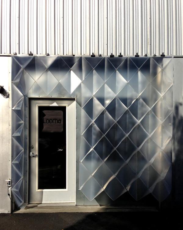 An Interactive, Temporary Building Façade by Mahsa Vanaki