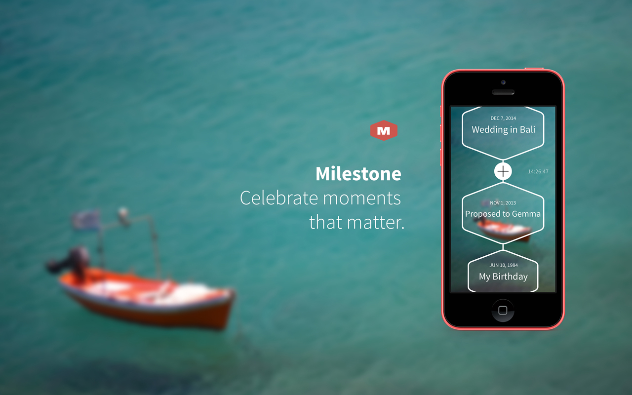 Milestone: A Marcel Wanders iPhone App