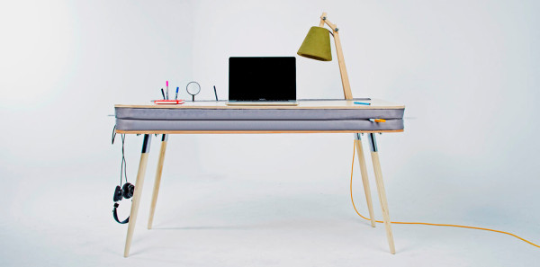 A Comfortable Work Desk That Holds Everything in main home furnishings  Category