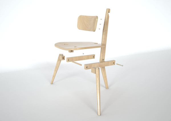Sedia3 Folding Chair DORODESIGN 12