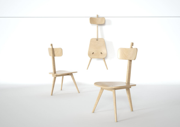 Sedia3 Folding Chair DORODESIGN 9