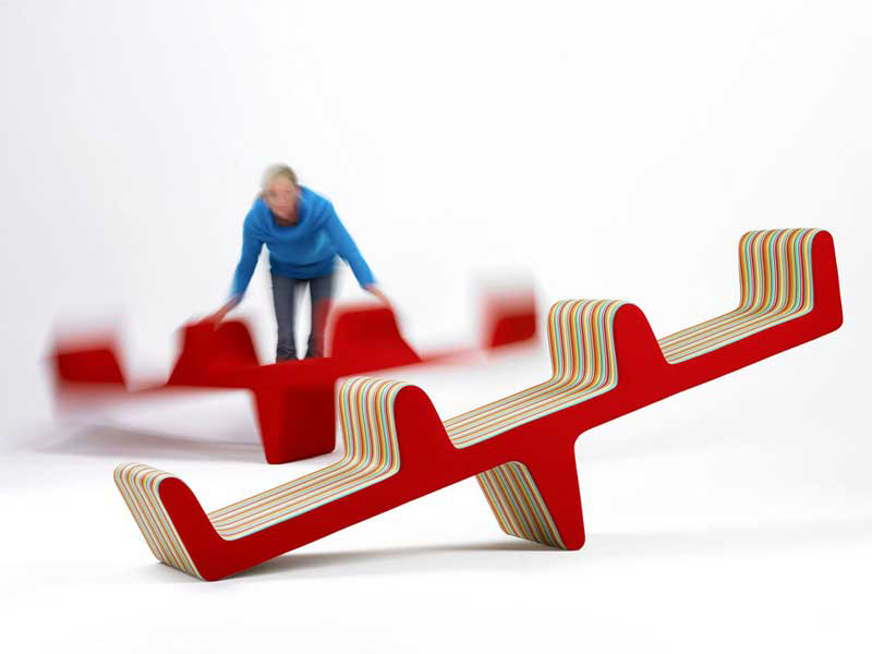 An Indoor Seesaw by Louise Campbell